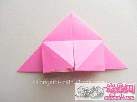 怎样折玫瑰花 简单纸玫瑰折法图解